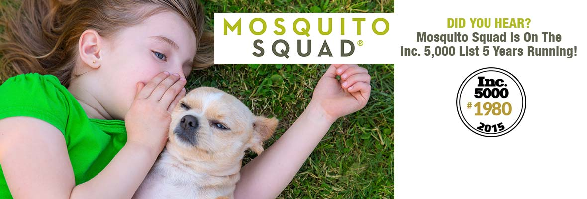 Mosquito Squad: Fastest Growing Companies 5th Straight Year