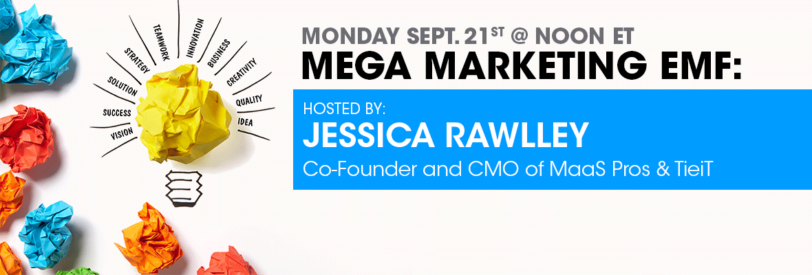 Jessica Rawlley from MaaS Pros hosts Monday's EMF