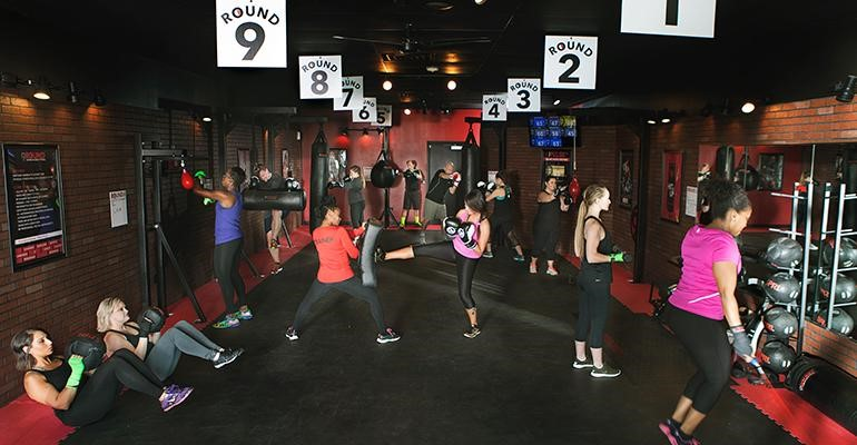 fitness franchise 9 round circuit