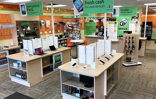 tech franchise retail